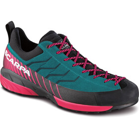 Scarpa W's Mescalito GTX Shoes Tropical Green-Rose Red